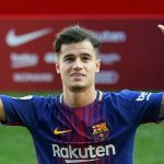 Philippe Coutinho in Barcelona shirt