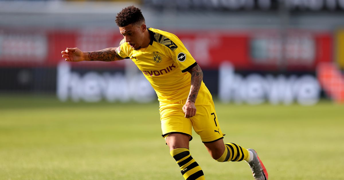 Real Madrid set sights on Jadon Sancho deal
