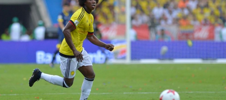 Espanyol's Carlos Sanchez is a key player for Colombia