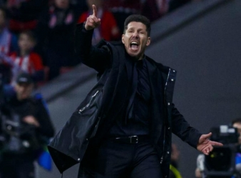 Diego Simeone Signs on at Atletico Madrid
