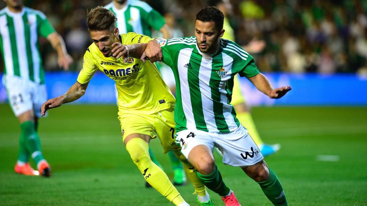 Real Betis Villarreal Spanish Soccer