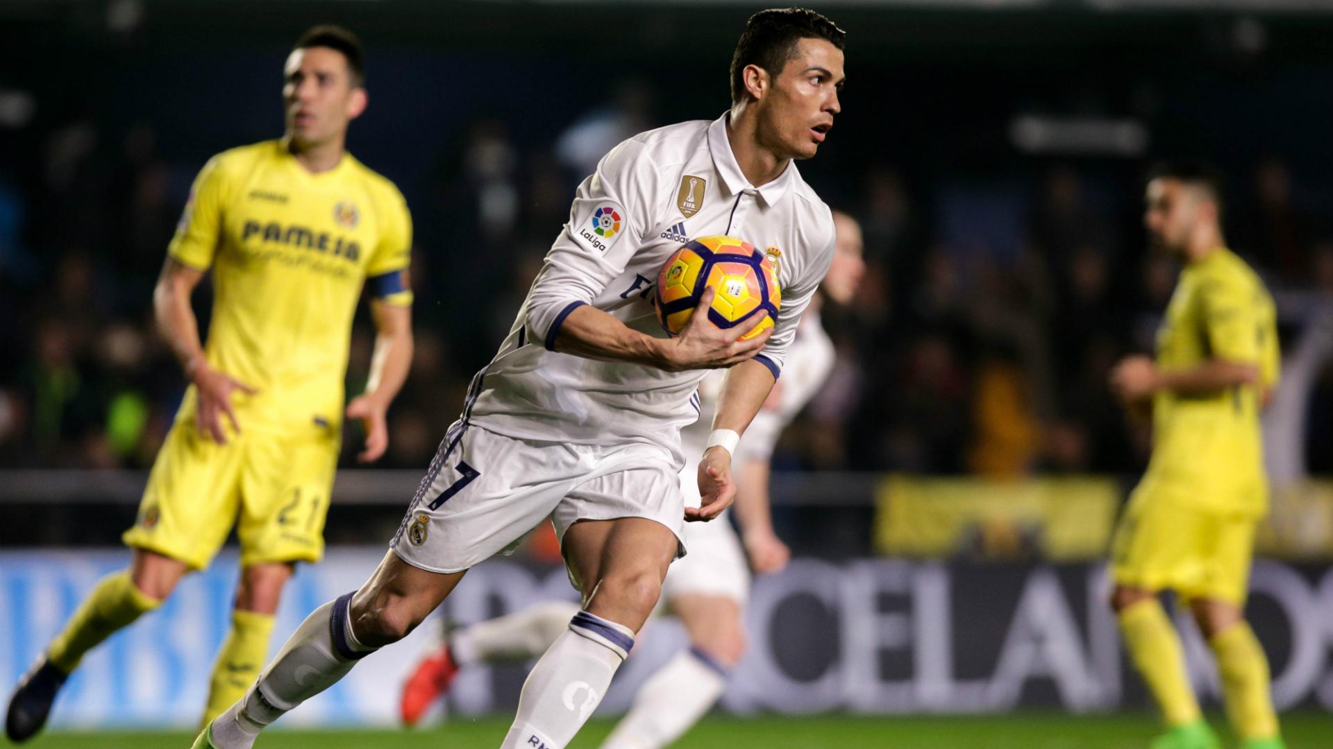 Villarreal Real Madrid Spanish Soccer